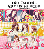 [PACK COVER #11] TAEYEON - GIFT FOR MY FRIEND! by bonsociu009