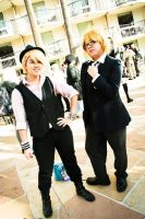 Utapri: Syou and Natsuki Full view by HikariTwinkle
