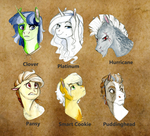 The Founders of Equestria by Earthsong9405