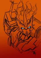 IDW Transformers Firestar by Natephoenix