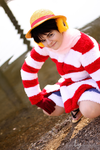 Next Pirate King | Monkey D. Luffy [Punk Hazard] I by The-Ly
