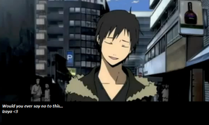 For the Izaya lovers. by Ceyism