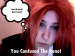 Confused Reno by MarshmellowSenguin