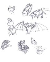 Gabu Sketches by SilverSoulArtist