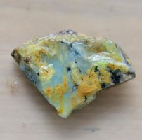 Peruvian Blue Opal Rough by lamorth-the-seeker