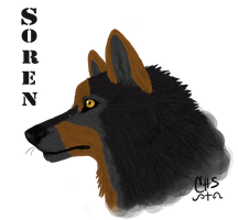 Soren Headshot Commish by CrossHound213