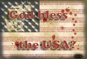 God bless the USA? by Miss--Dee