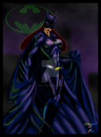 Batgirl_by_Zherj by joephotoshop