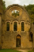 Abbaye d'Orval - Ruins by ReneHaan