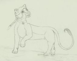 Katara the Lion by Commy-Lover