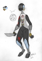 New 9 oc: Awen by sketchris