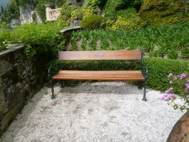 Romantic Bench by XiuLanStock