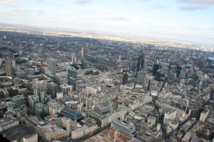Flying Over London by fruitycube