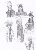 Soul Eater adult sketches by Jazzie560