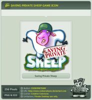 Saving Private Sheep Icon by CODEONETEAM