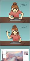Artist Woes by shobey1kanoby