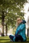 Samus Aran - Metroid-Mum by theDevil-photography