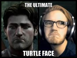 The ultimate turtle face by Rhinelle