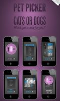 Pet Picker App by incubotic421