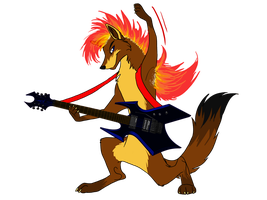 I love the sound of crashing guitars by StanHoneyThief