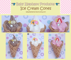 .: Ice Cream Cones :. by moofestgirl