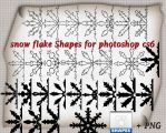 snow flake Shapes by roula33
