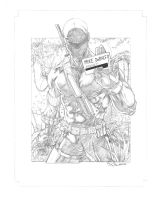 Snake Eyes -pencils- by SquirrelShaver