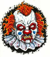 Clown by scottkaiser