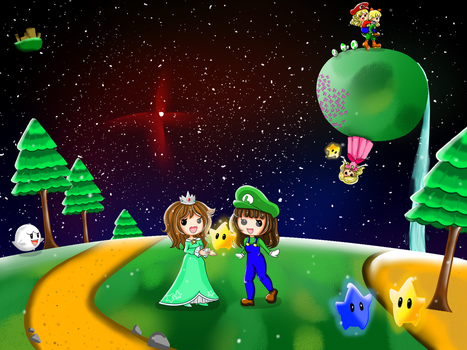 Exploring the Galaxy by MimiStars