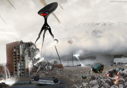 War of the Worlds by ColinPortfolio
