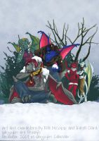 Garg Calendar 2007 - December by coda-leia