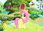 FlutterShy's Homestead by Raynaron