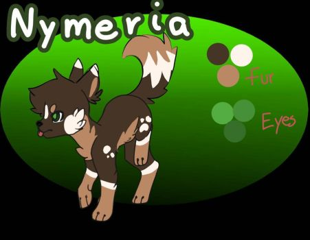 Nymeria Ref by Poofy-Cinnamon-Roll