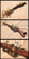Steampunk Ray Gun 1 by Spirit-Candy