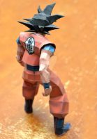 Son Goku - Back by henrydig