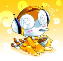 Chibi Kururu: For Crazybadluck by CARROTmanga