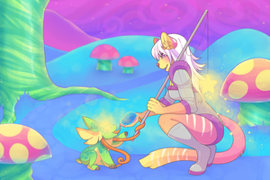 [C] Nicoya [Gone Fishin YCH] by Oh-ka