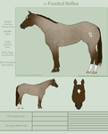 PD Frosted Reflex - AQH by painted-cowgirl