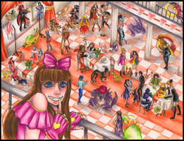 :IPL: Suika at the Challengers Ball by Miyukitty