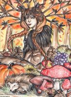 Dame Automne by caterpillar96