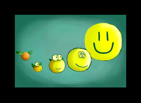 The Evolution of the Smiley by dun-kel
