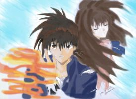 Recca and Anna by shard20