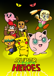 Super Legend Heroes Poster Teaser 2 by Mighty355