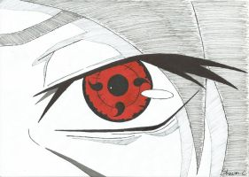 Itachi's Eye by NeXusShawn
