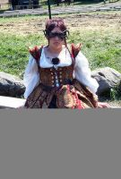 Moi at the Medieval Fair by ChristopherCarrion