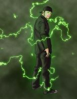Green Lightning by TheRogueSPiDER