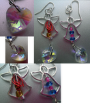 Anarchy Panty and Stocking Earrings by RenoxofxthexTurks