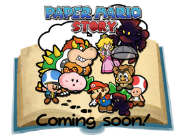 Paper Mario Story poster by Pokemon-Diamond