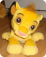 My Purring Simba Plush by DrOpDeAdShElLy