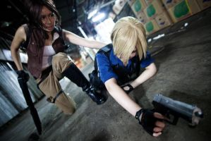 Resident Evil 6 Helena Help by Asuka10